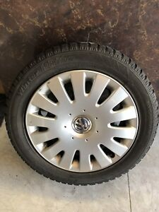 205 55 16 WINTER TIRES AND RIMS