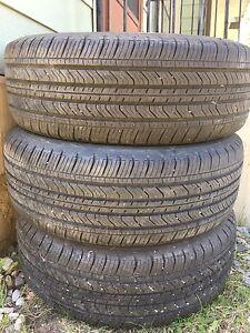 4 Michelin tires