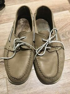 Storm real leather Portuguese boat shoes