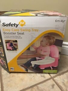 6m-4years pink booster seat
