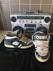 Men's US 5 OSIRIS shoes with box Brassall Ipswich City Preview