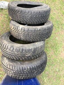 Winter tires 175/65r14 pneus hiver