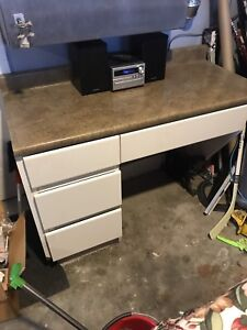 Cabinet With Countertop 4 Drawers