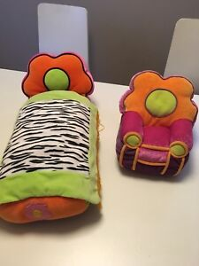 Groovy girl furniture- bed and chair