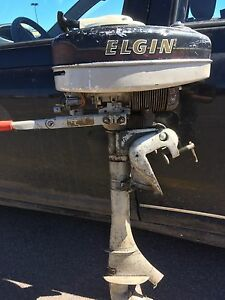 8hp Elgin outboard engine 125Obo