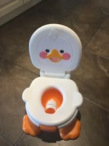 Fisher Price singing ducky potty