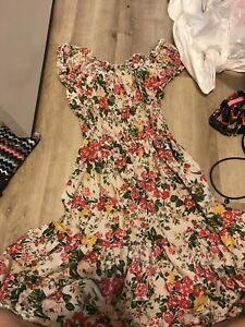 Stretch floral print dress barely  used