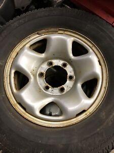 "Set of 4 16"" 6 Lug Toyota Rims"