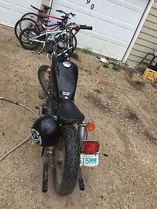 Looking to trade 83 bobber for a solid dirtbike