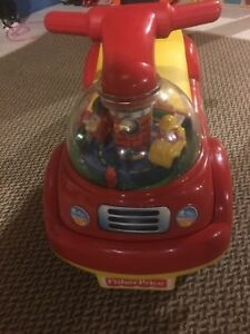 Fisher Price Little People Rescue Ride-on car