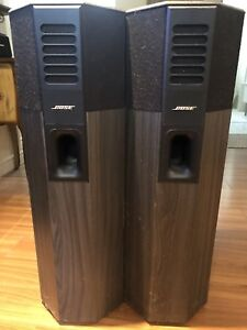 Technics Stereo and Cabinet, Bose 701 Series 1 Speakers
