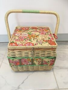 Vintage sewing baskets