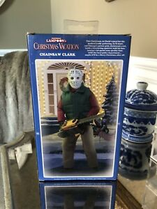 """National Lampoon's Christmas Vacation 8"""" Figure Chainsaw Clark"""