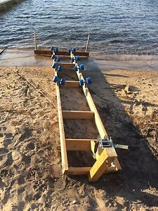 Watercraft cradle with winch