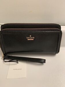 BNWTS-KATE SPADE ANITA PATTERSON DRIVE DOUBLE ZIP WALLET