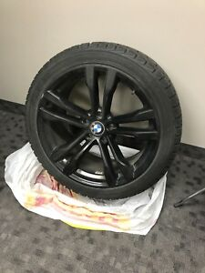 "20"" BMW Winter rims and tires"