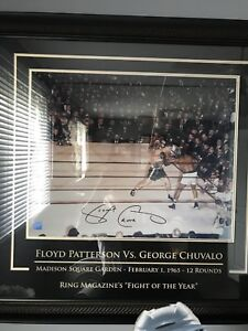 George chuvalo autographed picture his only