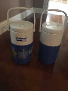 Coleman x 2 Polylite drink container