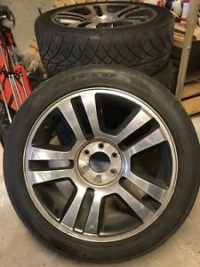 4 Summer tires with rims Ford F-150