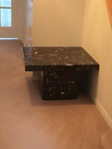 Side table granite