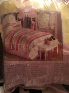 Girls  quilted single bed