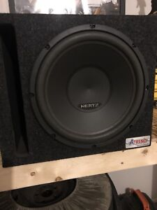 Like New Subwoofer and Amp