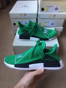 Adidas NMD's human race green boost size 10