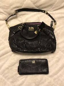 Coach Madison Sophia Gathered Leather Purse and Wallet
