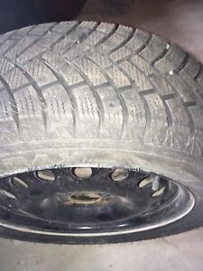 *Set of 4 Winter Tires with Rims