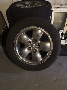 "Dodge Ram 20"" rims/tires"