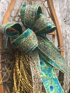 Festive door wreaths