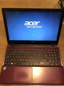 Acer Aspire Purple 15'6 laptop