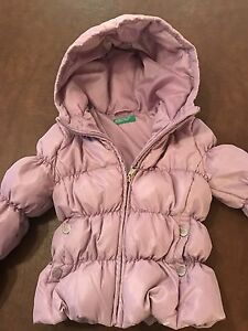 Benetton girls winter jacket