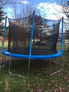 12 Foot almost new trampoline for sale!