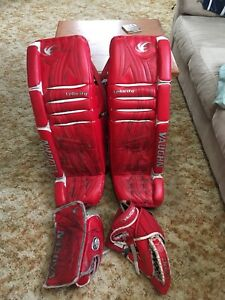 Goalie set-pads (36+2), blocker, catcher-Vaughn velocity-$350