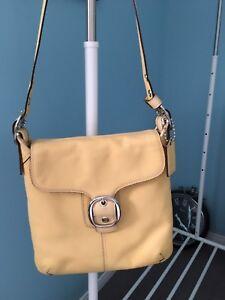 Coach large cross body or shoulder bag