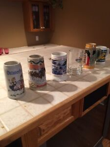 Beer Steins 6 for $ 35