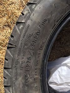 20 inch tires with low km
