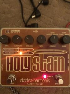 Ehx holy stain reverb and more