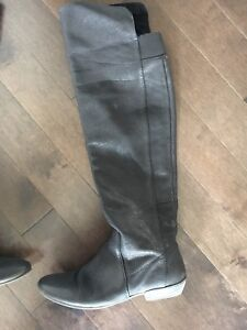 Nine West leather thigh high boots