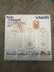 New Vtech digital baby monitor with two parent unit