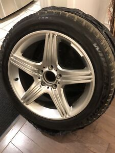 Dunlop winter Sport 225/50R17 Run Flat et mag