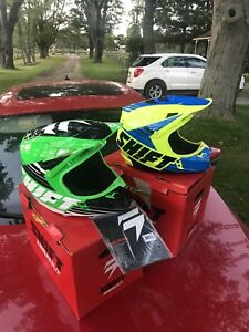 2 brand new helmets for sale