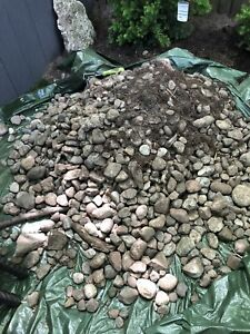 (Likely spoken for) Free river rocks. Must pick up.