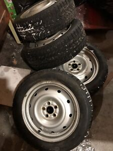 205/55r16 winter tires and rims
