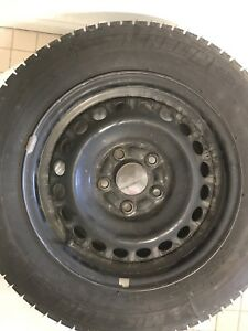 """Michelin winter tire 195/65R15 Like New!"""