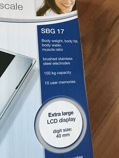 Vouwstoel 150 Kg.Sanitas Body Weight Fat Water Glass Diagnostic Scales Other