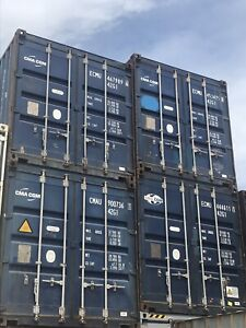 40' STORAGE CONTAINERS. BEST PRICES. SEA CANS