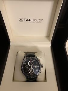 Black face TAG Heuer watch for sale