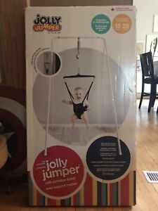 Jolly Jumper with stand in box